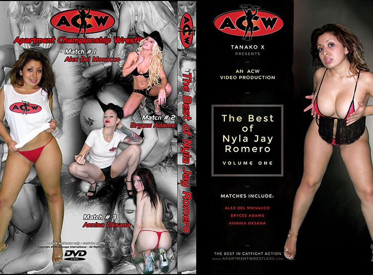 Best of Nyla Jay Romero - apartmentwrestlers.com