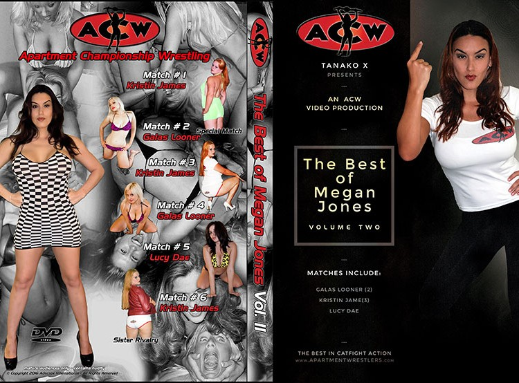 Best of Megan Jones Volume 2 - apartmentwrestlers.com