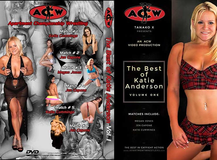 Best of Katie Anderson Volume 1 - apartmentwrestlers.com