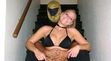 Tanako X -Madison Payne - apartmentwrestlers.com