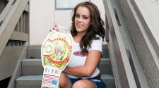 Katie Cummings - ACW Champion - apartmentwrestlers.com