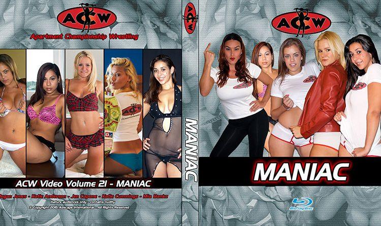 ACW DVD 22 - MANIAC - apartmentwrestlers.com