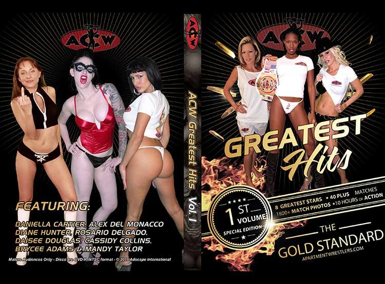 ACW Greatest Hits Volume 1 - apartmentwrestlers.com